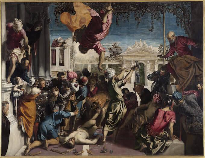 Jacopo Robusti detto Tintoretto, Miracolo dello schiavo, 1548. Venezia, Gallerie dell'Accademia