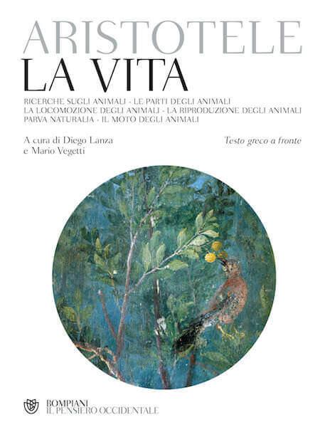 """Copertina del libro """"Aristotele, La vita"""", edito da Bompiani"""