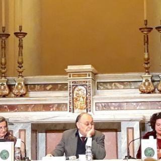 Elisabetta Cattanei, Armando Torno e Maria Bettetini alla Scuola della Cattedrale di Milano