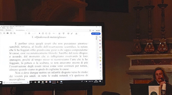 Elisabetta Cattanei alla Scuola della Cattedrale di Milano