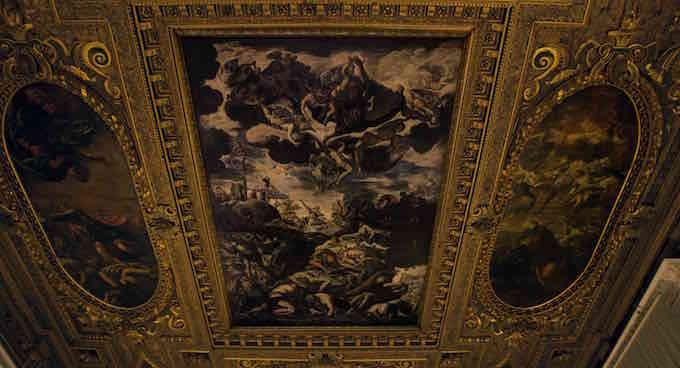 """Un'immagine dal docu-film """"Tintoretto. Un ribelle a Venezia"""""""