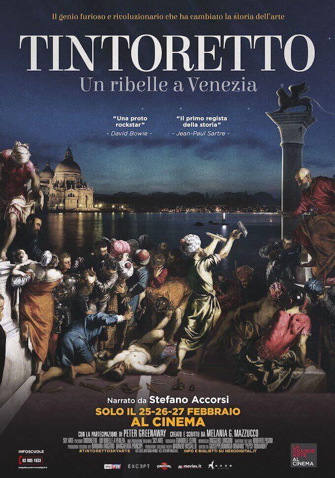 """Poster del film """"Tintoretto. Un ribelle a Venezia"""""""