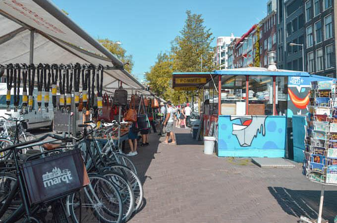 Il Waterloopleinmarkt di Amsterdam