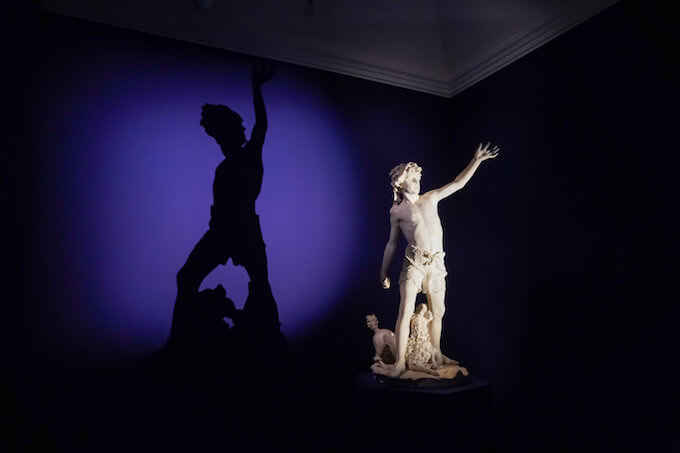 """""""L'audace Righetto"""" di Giovanni Strazza, esposto al Museo Poldi Pezzoli di Milano per la mostra sul Romanticismo. Foto di Alessandro Cervetti"""