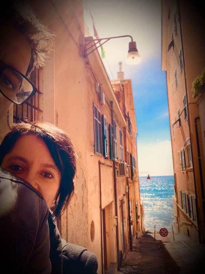 Antonio Paolacci e Paola Ronco a Genova
