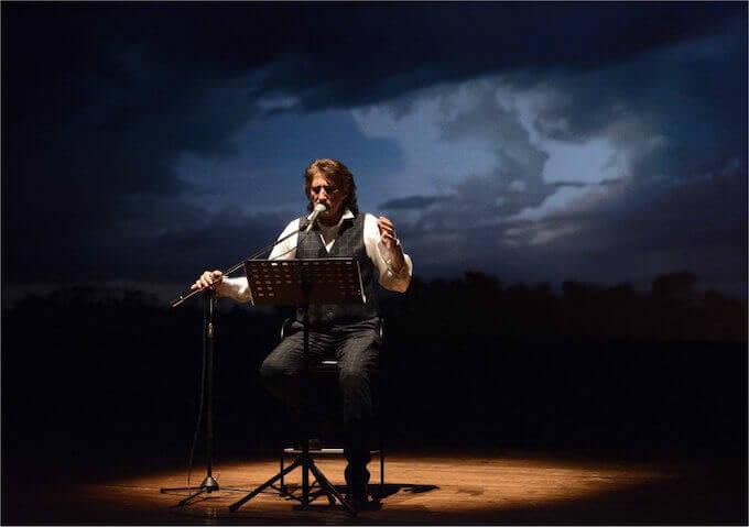 """Paolo Scheriani in """"Battiato / Pirandello"""""""
