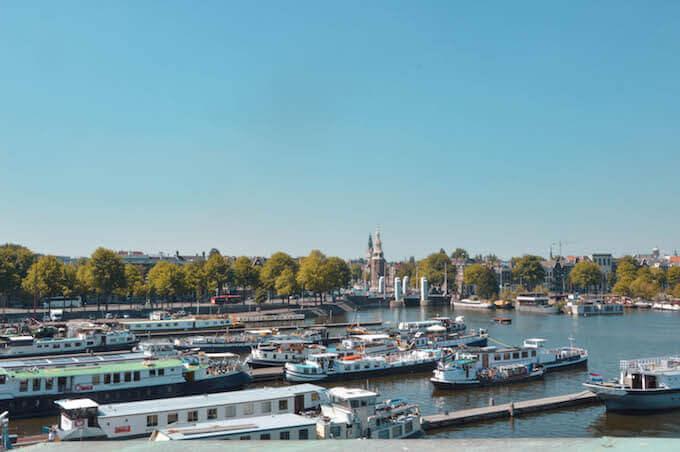 Amsterdam: panorama dal Museo delle Scienze