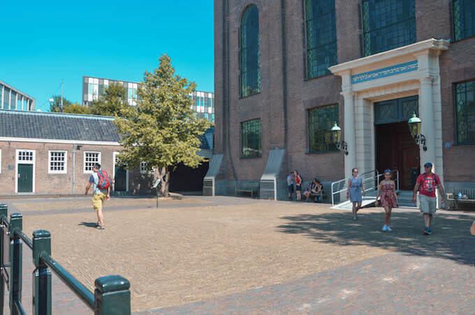 Amsterdam: il portale della Sinagoga