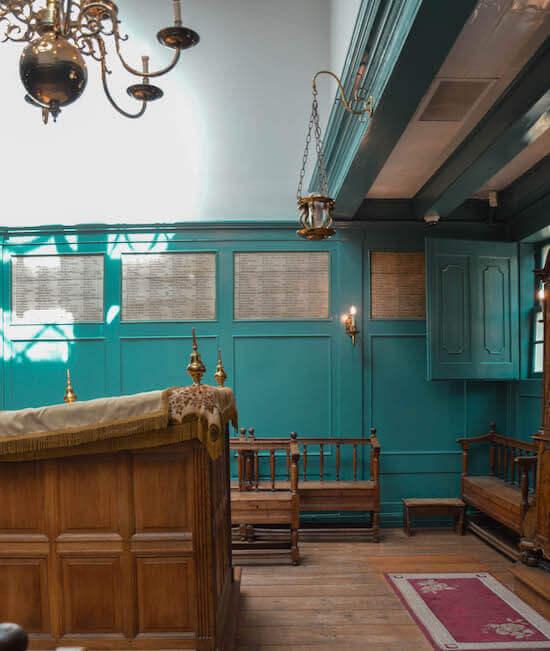 La Sinagoga invernale di Amsterdam
