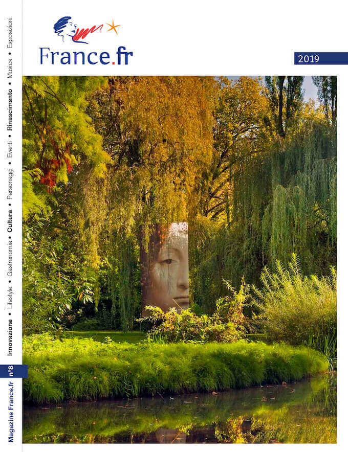La copertina del magazine France.fr di Atout France
