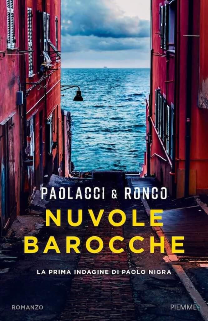 """La copertina di """"Nuvole barocche"""" di Antonio Paolacci e Paola Ronco (Piemme)"""
