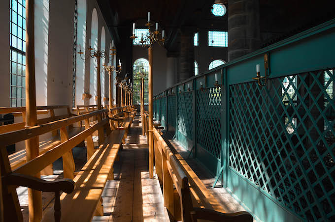 Sinagoga di Amsterdam: la galleria delle donne