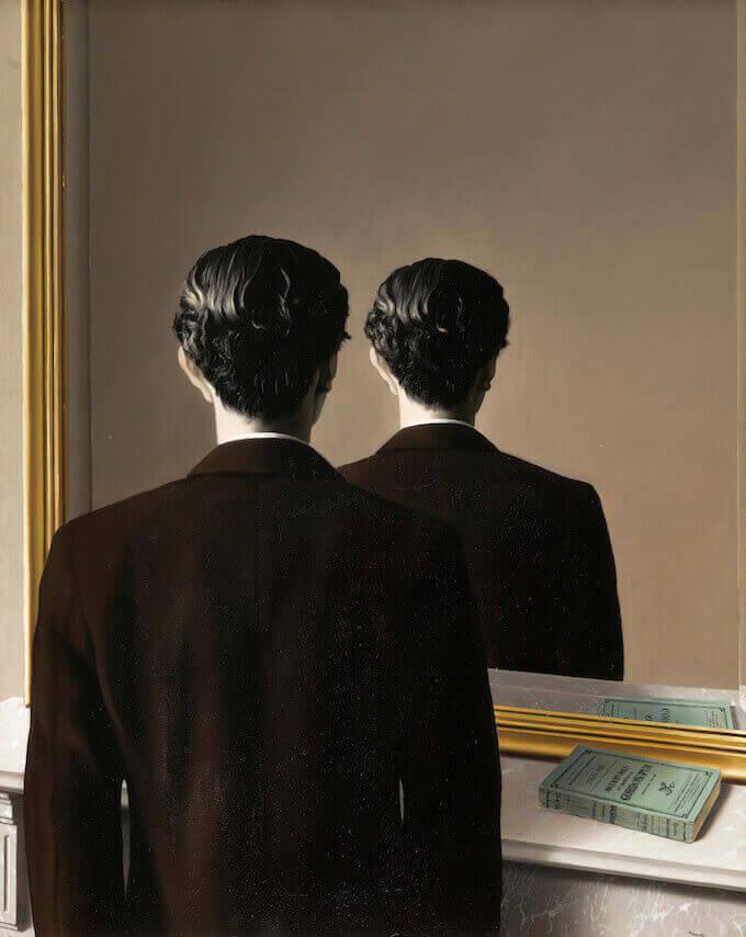 René Magritte, La reproduction interdite. Museum Boijmans Van Beuningen Rotterdam