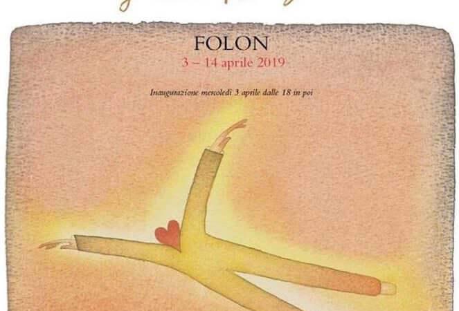 Un'illustrazione di Folon