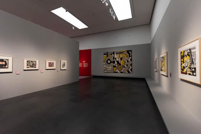 Una sala della mostra di Roy Lichtenstein al MUDEC di Milano. Foto di Carlotta Coppo