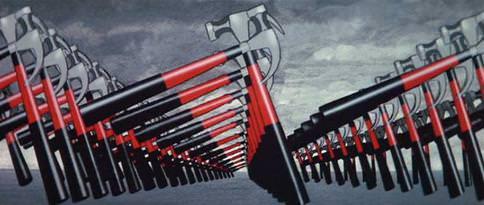 """Un fotogramma del film """"Pink Floyd The Wall"""""""