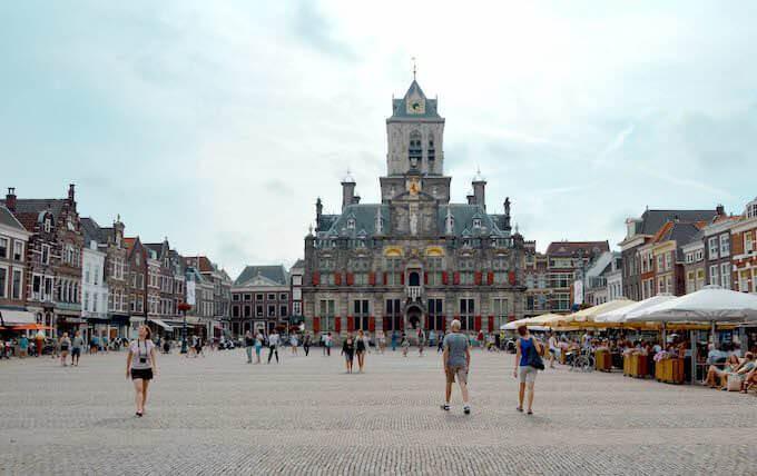 Il Municipio di Delft in Olanda