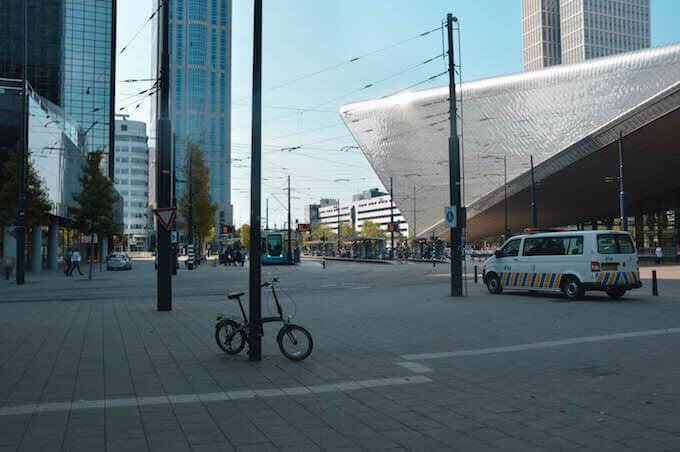 La stazione di Rotterdam in Olanda