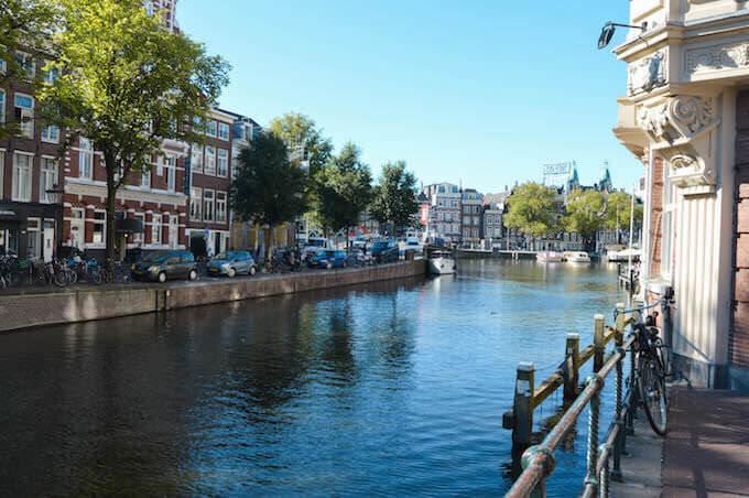 Amsterdam: lasciando l'Amstel