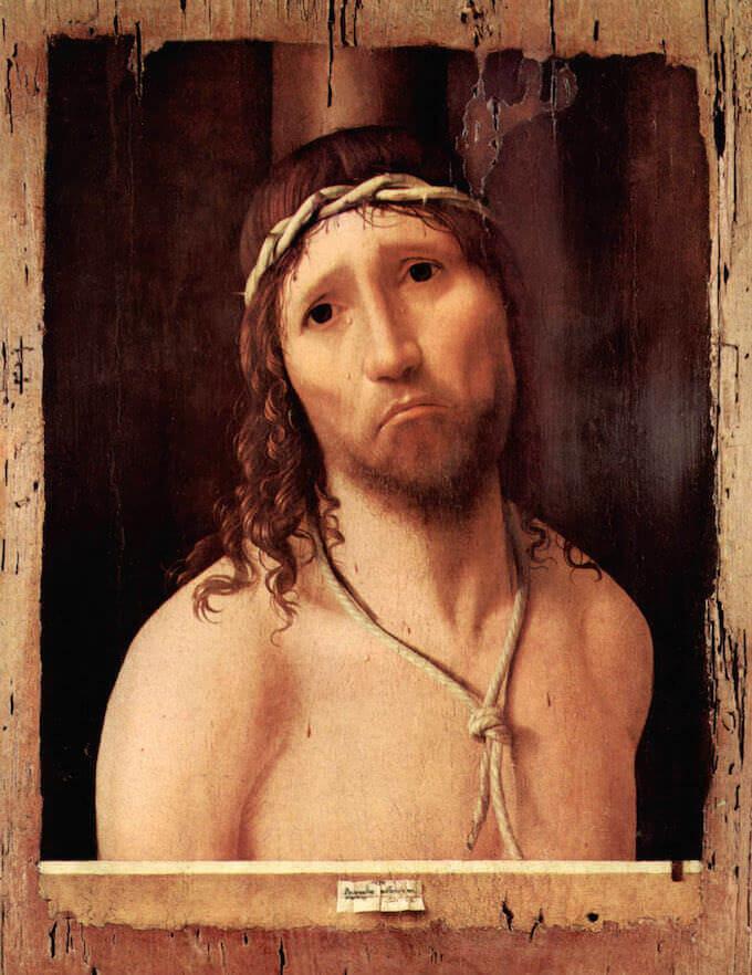 Antonello da Messina, Ecce Homo. Collegio Alberoni, Piacenza