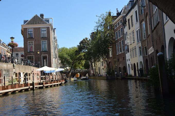 Il canale centrale di Utrecht