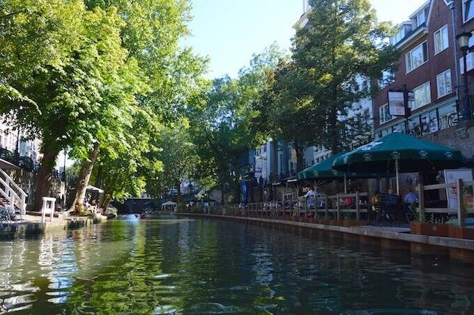 Gita in pedalò a Utrecht