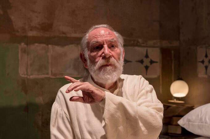 Renato Carpentieri è Prospero ne La Tempesta di Shakespeare