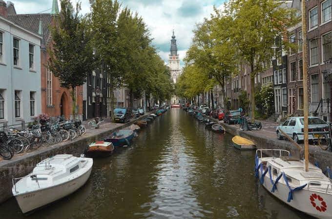 Amsterdam: il campanile della Zuiderkerk