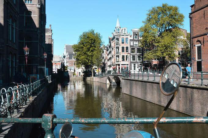 Un canale di Amsterdam