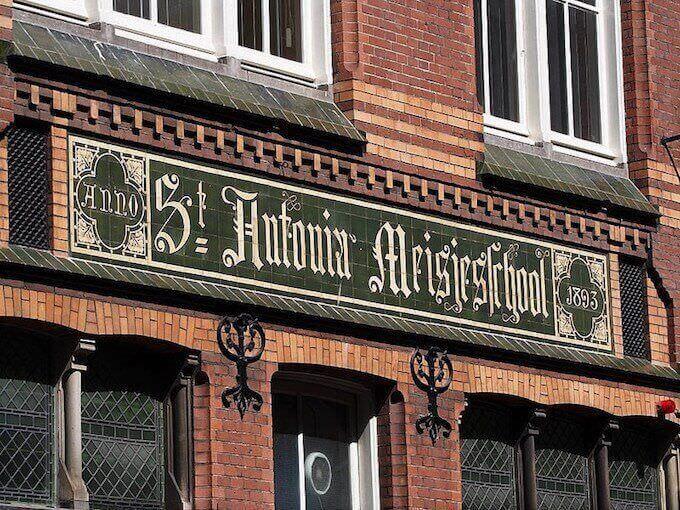 La St. Antonia Meisjeschool di Amsterdam