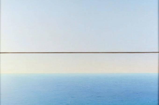 Piero Guccione, Mare a Punta Corvo