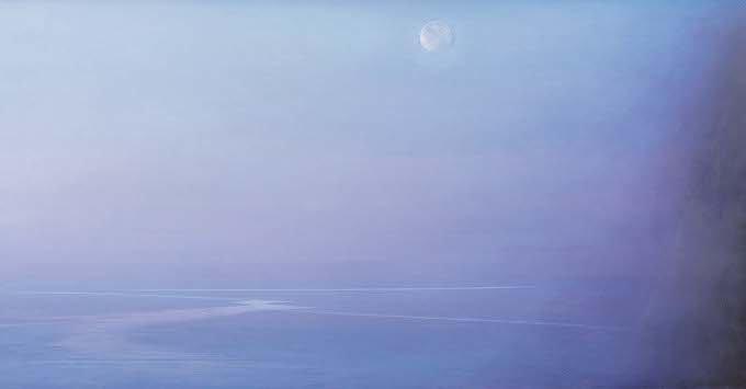 Piero Guccione, Il nero e l'azzurro