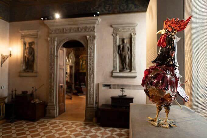 Un'opera di Toni Zuccheri al Museo Bagatti Valsecchi di Milano - foto di Paola Meloni