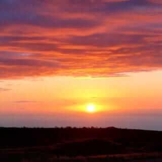 Un tramonto alle Hawaii