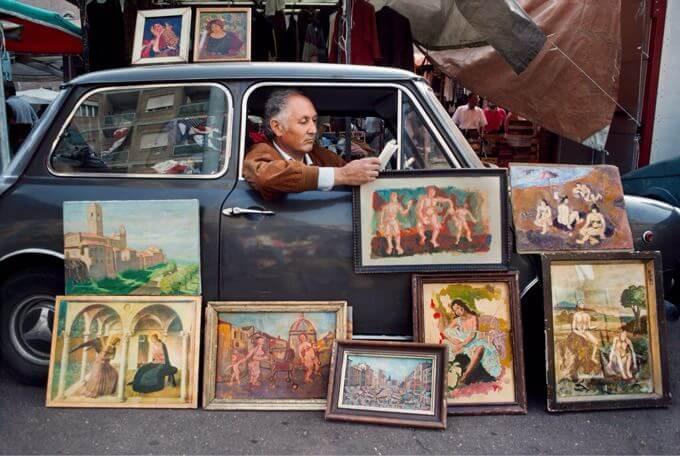 Steve McCurry, Roma, Italia, 1984 (c) Steve McCurry