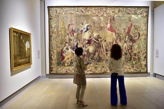 """Una sala della mostra """"Dall'argilla all'algoritmo. Arte e tecnologia"""": foto di Duilio Piaggesi"""