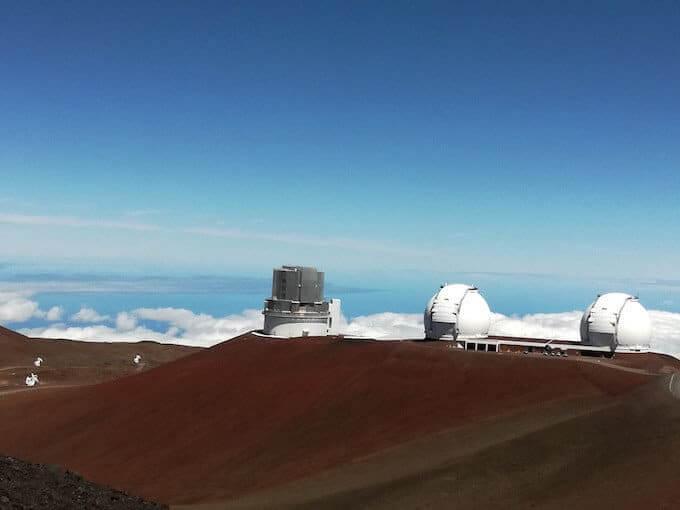 Il vulcano Mauna Kea alle Hawaii