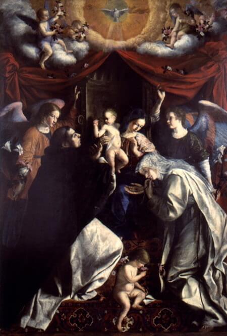 Orazio Gentileschi, Madonna del Rosario