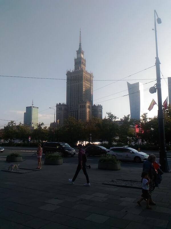 Varsavia: il Palazzo della Cultura e della Scienza