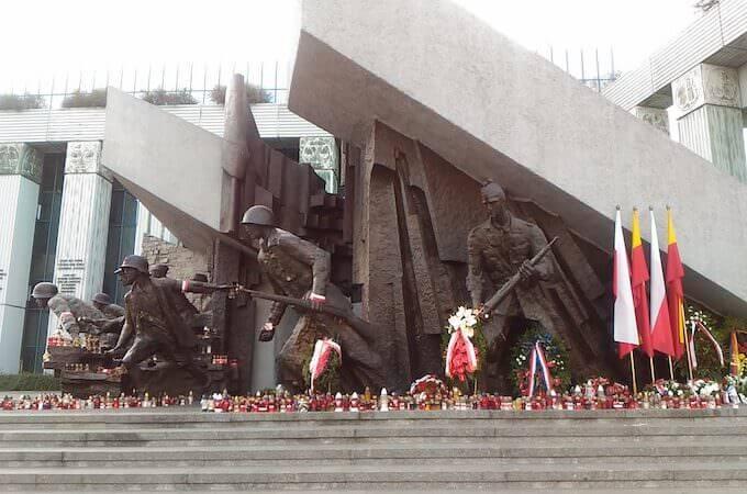 Varsavia: Monumento all'Insurrezione