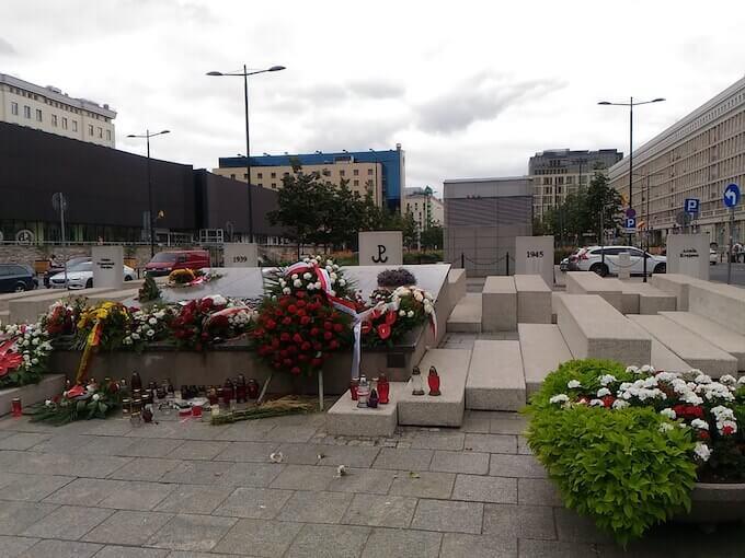 """Varsavia: monumento """"musicale"""" in plac Powstańków Warszawy"""
