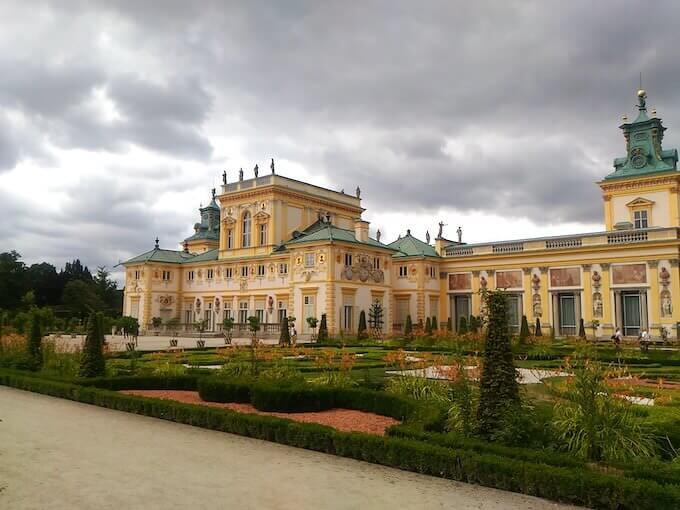 Varsavia: il palazzo barocco di Wilanow