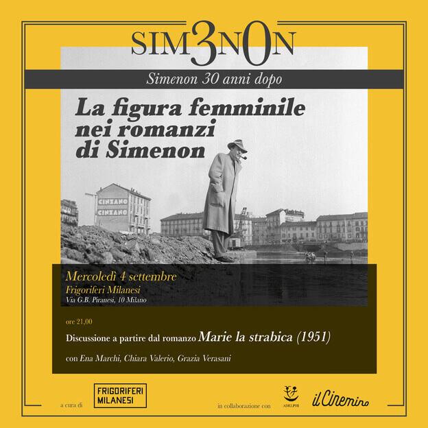 La figura femminile nei romanzi di Simenon