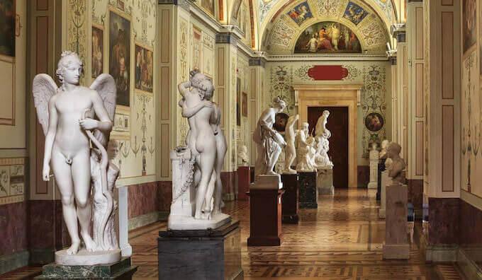 Galleria dei Canova, Palazzo d'Inverno © San Pietroburgo, Museo Statale Ermitage