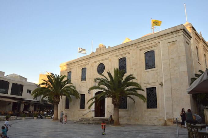 La chiesa di Agios Titos a Iraklio, Creta