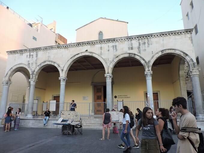 La basilica di S. Marco - Pinacoteca municipale a Iraklio, Creta