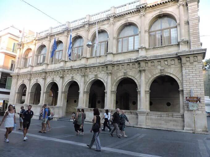 Il Municipio (Loggia Veneziana) a Iraklio, Creta