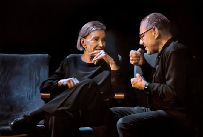 Nuria Espert e Lluís Pasqual (foto di Ros Ribas)