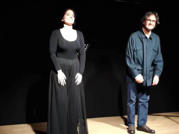 Laura Piazza e Valerio Bongiorno allo Spazio Banterle