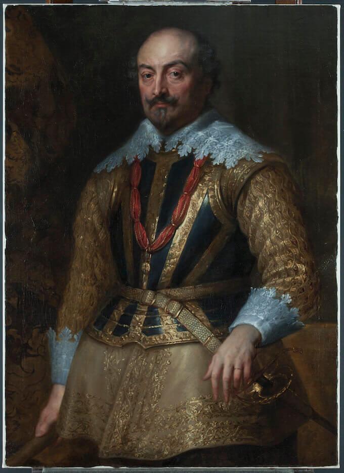 Anthony van Dyck, Ritratto di Giovanni III, Conte di Naussau – Siegen